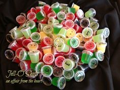 Jell-o Shots -- 8 Different Flavors!!