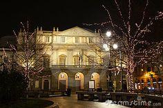 La Scala Opera House, Milan, Italy. Stunning!
