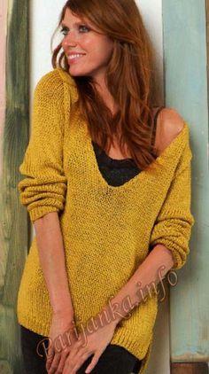 Пуловер (ж) 79*218 FAM №4878