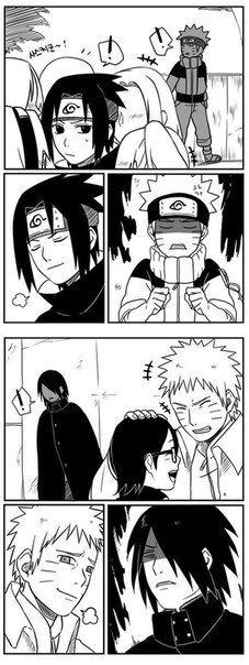 #Naruto #Sasuke #Sakura #Sarada