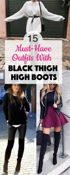 High Boots and Skirt