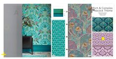 Interior House Colors, New Interior Design, Small Balcony Decor, Country Interior, Home Decor Trends, Color Trends, Colorful Interiors, New Homes, Kochi