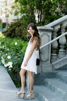 A white dress is one of the best investments you could make for summer. There are a million variations of outfits you can put t. Dress Skirt, Cold Shoulder Dress, White Dress, Skirts, Summer, Clothes, Outfits, Dresses, Fashion