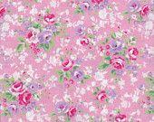 Lecien pink and lavender floral   http://www.etsy.com/shop/DonnasLavenderNest
