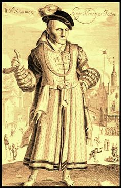 Will Somers Henry 8's fool. was the best-known court jester of Henry VIII of England.