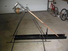 Make a Mid-sized (disassemblable) Steel Trebuchet