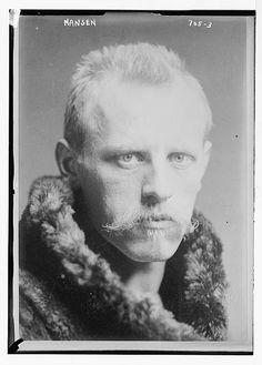 Norwegian scientist and diplomat Fridtjof Nansen