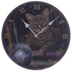 Väggklocka - Spå Katt