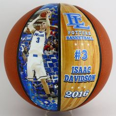 The Perfect Senior Night and End of Season Gift Bulk Discounts Available For Multiple Players/Coaches We custom design every basketball to meet your needs These are full size regulation basketballs available in two or four panels of decoration. You can use as many images as you like as