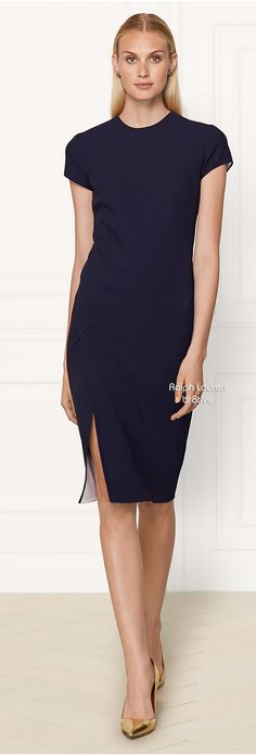Ralph Lauren Wool Tasha Dress