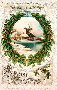 Wouldn't it be great to send out old-fashioned Christmas cards?