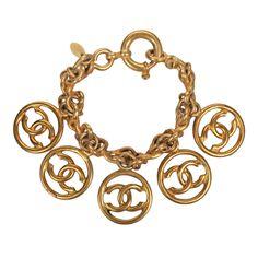 1stdibs | CHANEL Logo Bracelet