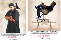 Ice Cube Celebrates Ray and Charles Eames