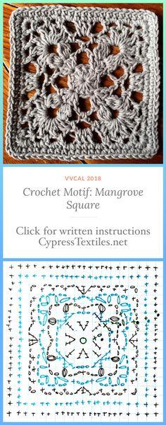 Yarn: Scheepjes Softfun Hook: US Size Size: 6 inches Bag Crochet, Crochet Granny, Crochet Motif, Crochet Crafts, Double Crochet, Crochet Stitches, Crochet Projects, Free Crochet, Crochet Squares