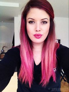 Super Gorgeous: Pink Hair with Fudge Paintbox!