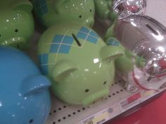 Argyle Piggy Banks!