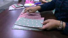 Mulher.com - 29/10/2015 - Capa de caderno em cartonagem por Patricia God...