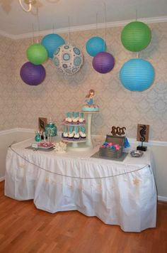 Mermaid and Pirate Under the Sea Party | CatchMyParty.com