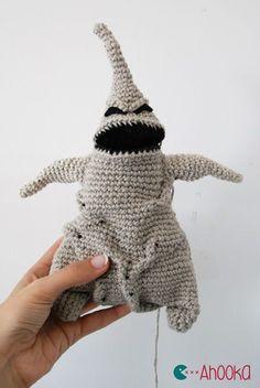 Amigurumi Oogie Boogie (the Nightmare Before Christmas) - FREE Crochet Pattern / Tutorial