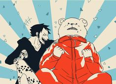 Trafalgar D. Water Law and Bepo One piece