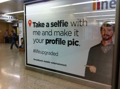 Internet provider iiNet invited commuters at Sydney's Wynyard station to play Twister (as well as snap selfies and partake in social media) as part of a station domination. The campaign, produced by Western Australian advertising agency Meerkats (www.meerkats.com.au), consisted of 77 posters – including bulkheads, floor graphics, pillar graphics, and wall graphics. http://bigpicture.net/content/meerkats-interactive-station-domination