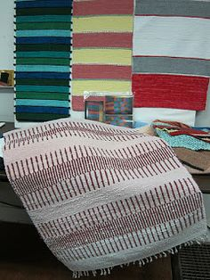 The weavers gathered for their monthly meeting to share their joy of weaving, meet and greet the new weavers and plan instructional workshop. Picnic Blanket, Outdoor Blanket, Beach Mat, Weave, Workshop, Joy, Traditional, Crafting, Meet