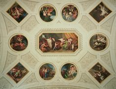 Numa Pompilio, second King of Rome. (Palazzo Milzetti, Faenza - Italy).
