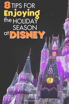 The Holidays are Disney World are some of the most magical times of the year! Learn 8 Hacks that will make a huge difference on your next magical vacation.
