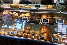 bakery case at Denica's http://www.placesiveeaten.com/blog/denicas-in-livermore