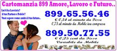 Cartomanzia professionale al telefono a basso costo 899507755 a soli 0,25 cent da fisso http://www.cartomantistudiosibilla.it/