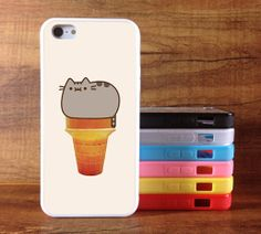 Pusheen the CatIcecream iphone 5s case iPhone 5 Cases by Chinacase, $6.99