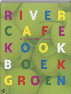 River Cafe Kookboek Groen - Rose Gray & Ruth Rogers(2005). 150 Italiaanse recepten met groenten en fruit van het seizoen. Het River Cafe is een restaurant in Londen.