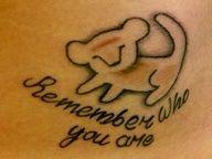 the lion king tatoo idea