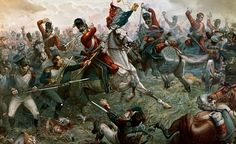 in so many words...Battle of Waterloo by William Holmes Sullivan - Today is the 197th anniversary of the defeat of Napoleon at Waterloo.