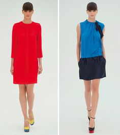 victoria beckham's spring 2012 dress line Victoria Beckham, Spring, How To Wear, Dresses, Vestidos, Dress, Gown, Outfits, Dressy Outfits