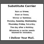 Shop Funny Mail Carrier (Mailman) Shirt created by crgsmdly. Retirement Quotes, Going Postal, Office Humor, Post Box, Adult Humor, Good Company, Post Office, Tumblers, Funny Things