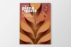 """Graphic cover """"Pizza e Pasta Italiana"""", November 2015"""