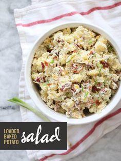 | loaded baked potato salad |