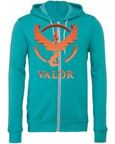 Team Valor Zipper Hoodie