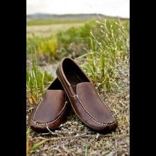 Rugged Jackson - Men's Casual Driving Shoe in Bison Leather by Buffalo Jackson Trading Co