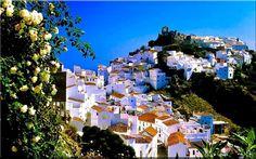 Mountain village of Casares, Malaga, Spain