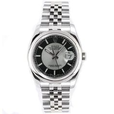 Rolex Mens New Style Heavy Band Stainless Steel Datejust Model 116200 Jubilee Band Stainless Steel Smooth Bezel Black/Silver Stick Dial: http://watches.cybermarket24.com/rolex-mens-new-style-heavy-band-stainless-steel-datejust-model-116200-jubilee-band-stainless-steel-smooth-bezel-blacksilver-stick-dial/