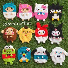 Animal Pencil Case, Key Diy, Little Twin Stars, Kids Bags, Crochet Accessories, Crochet For Kids, Beautiful Crochet, Crochet Projects, Purses And Bags