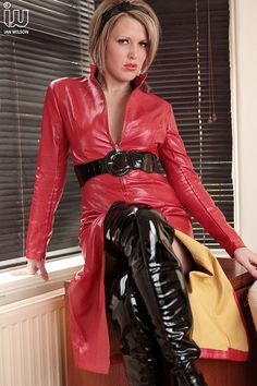 Untitled leatherlea: von ShinySexy am – Beste Outfit Ideen Sexy Outfits, Dress Outfits, Imper Pvc, Vinyl Clothing, Leder Outfits, Looks Plus Size, Latex Dress, Leather Dresses, Sexy Boots