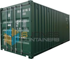 20ft new green 20ft Shipping Container, Shipping Containers, New Green, Lockers, Locker Storage, Home Decor, Room Decor, Closets, Home Interior Design