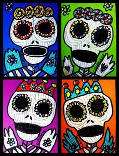✢ Viva Dia de los Muertos | Poster