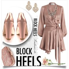 A fashion look from May 2017 featuring Zimmermann dresses, Shoes of Prey pumps and Kate Spade earrings. Browse and shop related looks.