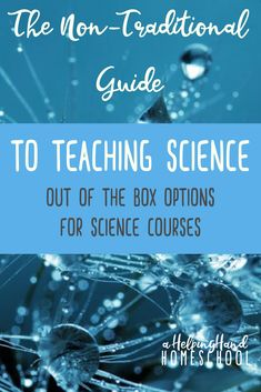 Is your student looking for science courses that are outside the typical subjects? Here are some fantastic ideas and resources for you to use! #homeschool #science #curriculum
