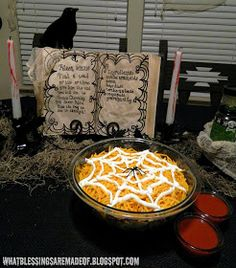 What Blessings Are Made Of: Halloween Taco Salad