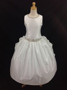 First Communion dress - Christie Helene Couture - Miley - NEW 2015 - Beautiful Communion Dress For Girl - Communion Dresses - First Holy